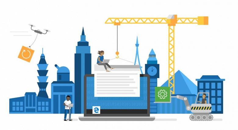 Принципиально новый браузер Microsoft Edge с расширениями Google Chrome доступен всем желающим