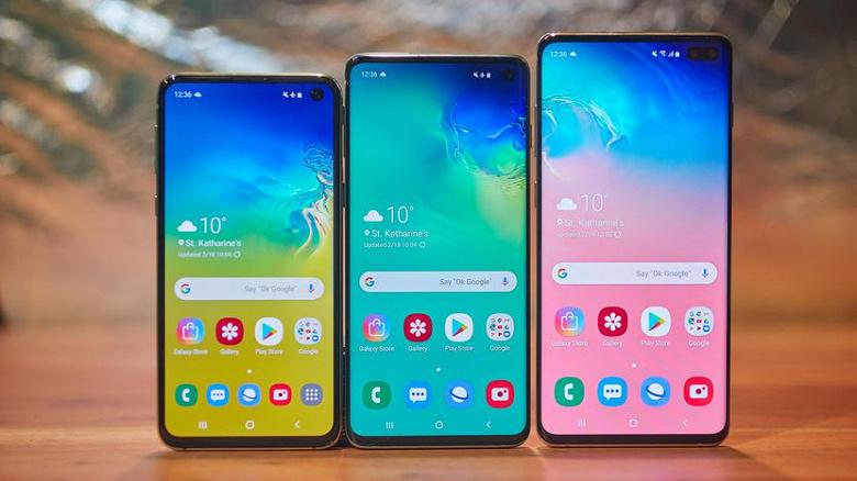 Смартфоны Samsung Galaxy S10 стали работать дольше без подзарядки