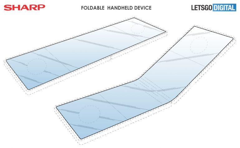 Появились качественные рендеры складного игрового смартфона Sharp