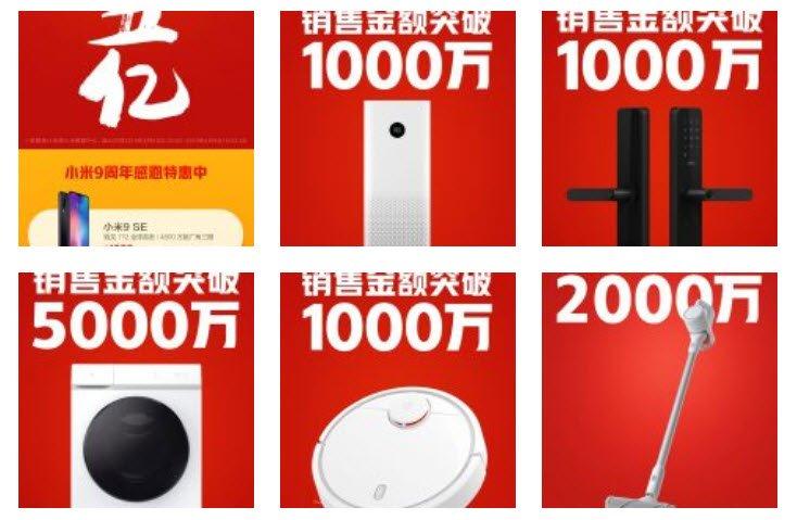 Новый рекорд Xiaomi. Уже установлен и продолжает расти