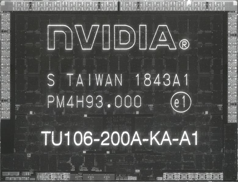 Качественные фотографии кристаллов GPU Nvidia TU106 и TU116 позволили понять, сколько места занимают тензорные ядра и ядра RT