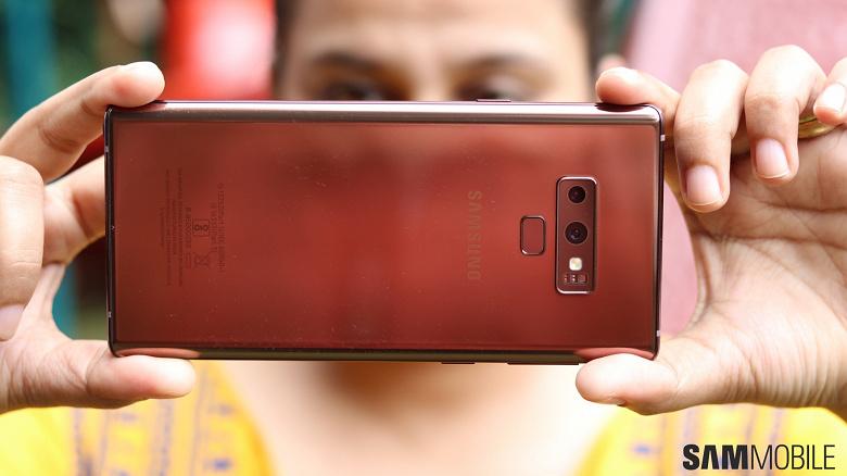 Samsung добавила Galaxy Note9 новую функцию камеры, как у Galaxy S10.