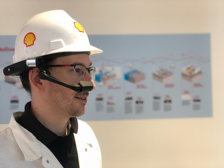 На головы сотрудникам Shell наденут компьютеры