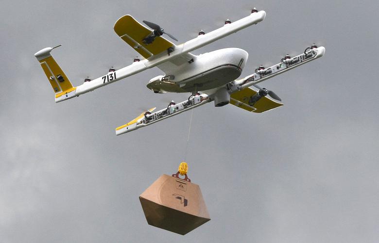 Дроны компании Wing начали доставку товаров в одном из регионов Австралии