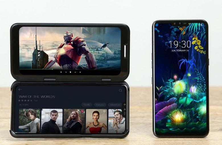 LG V50 ThinQ 5G оказался дешевле Samsung Galaxy S10 5G