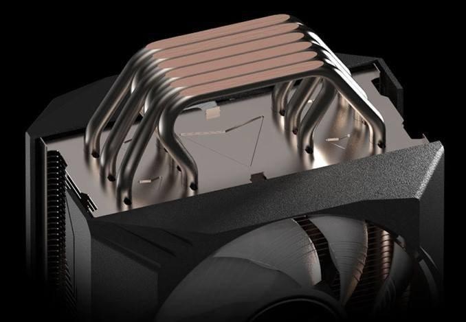 Процессорная система охлаждения Gigabyte Aorus ATC800 весит более 1 кг