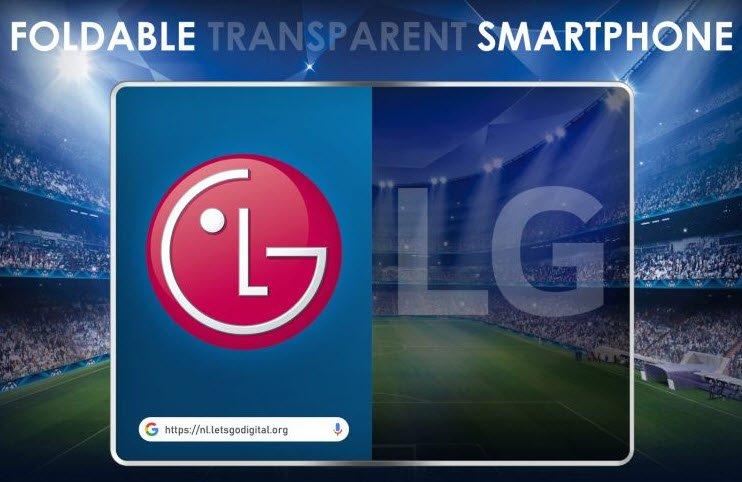 Не только сгибающийся, но еще и прозрачный. LG готовит революционный смартфон