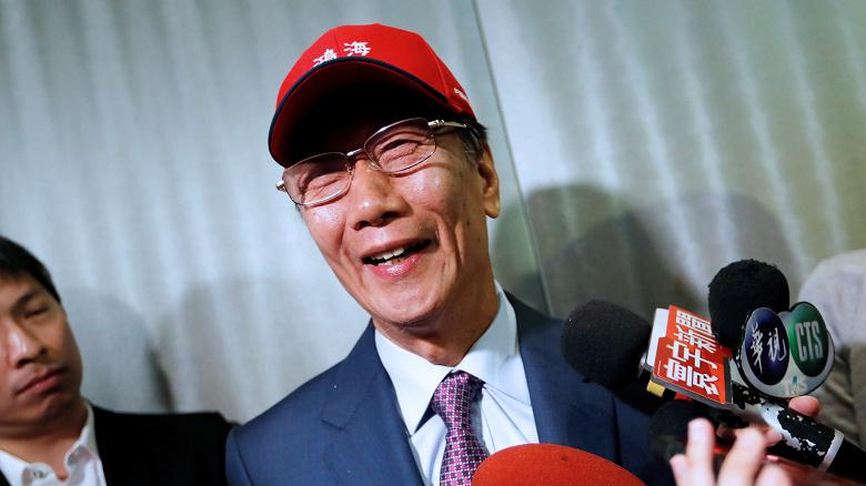 Глава Foxconn Терри Гоу хочет стать президентом Тайваня