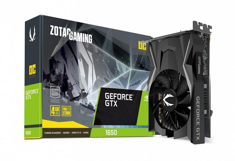 Стали известны параметры GPU видеокарты GeForce GTX 1650