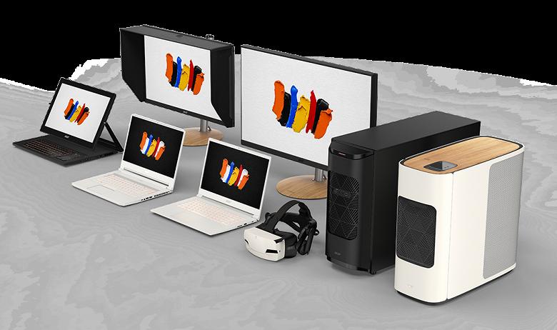 Монструозный ПК за 17 999 евро и не только. Acer представила ноутбуки и десктопы ConceptD для создателей контента