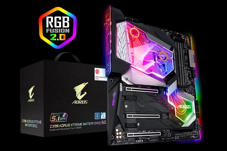 Зачем тратить время на разгон? Комплект Gigabyte Z390 Aorus Xtreme Waterforce 5G Premium Edition Bundle включает разогнанный до 5,1 ГГц CPU Core i9-9900K