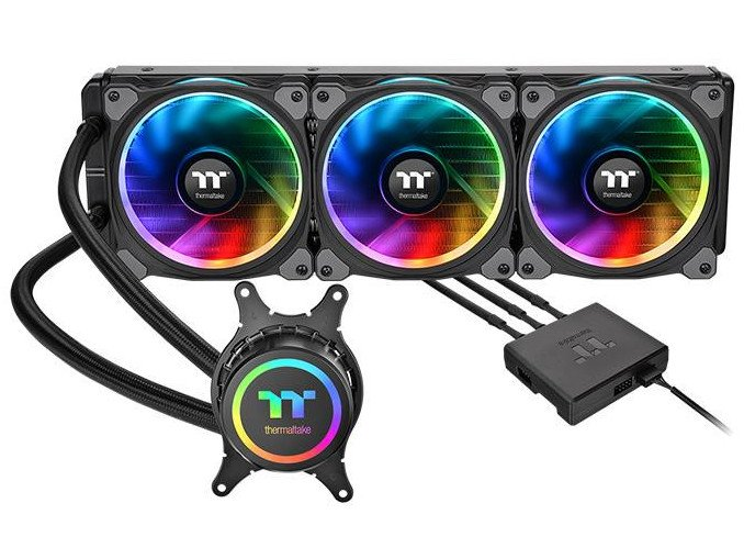 Система жидкостного охлаждения Thermaltake Floe Riing RGB 360 TR4 Edition подходит для процессоров с TDP 250 Вт