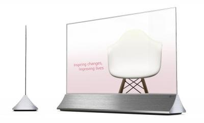 Первым серийным прозрачным OLED-дисплеем LG станет 55-дюймовая модель 55EW5F TOLED