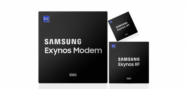 Samsung уже выпускает серийно мобильные чипсеты 5G