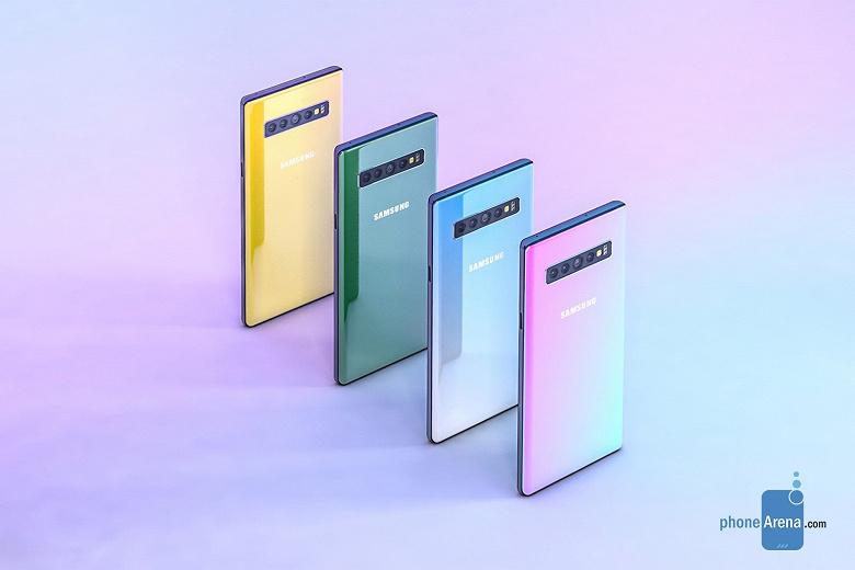 Названы все версии флагманского планшетофона Samsung Galaxy Note 10