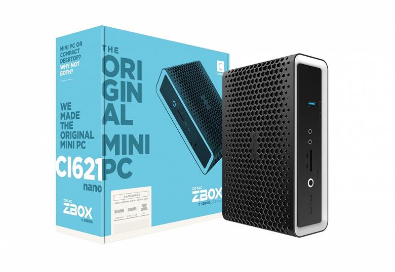 Мини-ПК ZBox CI621 пополнил каталог Zotac