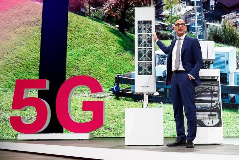 Общая сумма заявок на получение спектра 5G в Германии приблизилась к 5 млрд евро