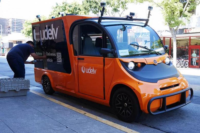 В Калифорнии хотят упростить тестирование небольших самоуправляемых грузовиков