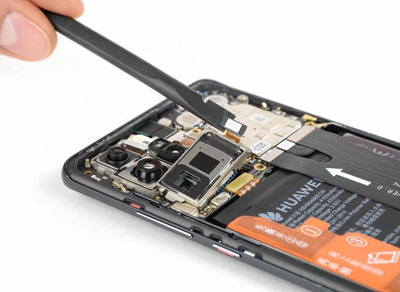 Разборка смартфона Huawei P30 Pro позволила узнать все его секреты и оценить ремонтопригодность