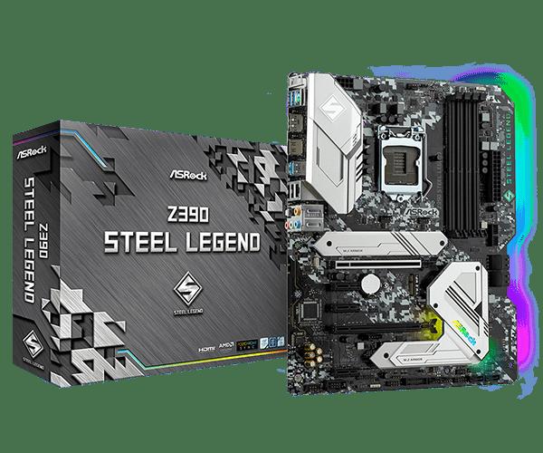 Представлена системная плата ASRock Z390 Steel Legend