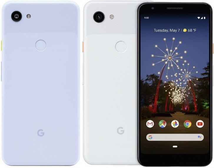 Смартфоны Google Pixel 3a получат кнопки включения разных цветов