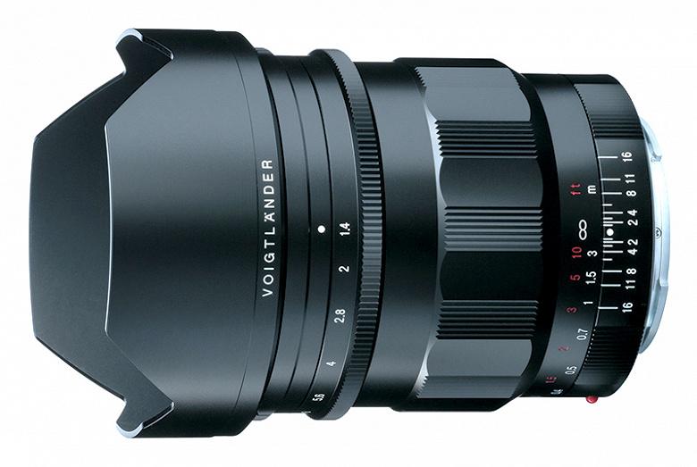 Представлен объектив Voigtlander Nokton 21mm f/1.4 FE