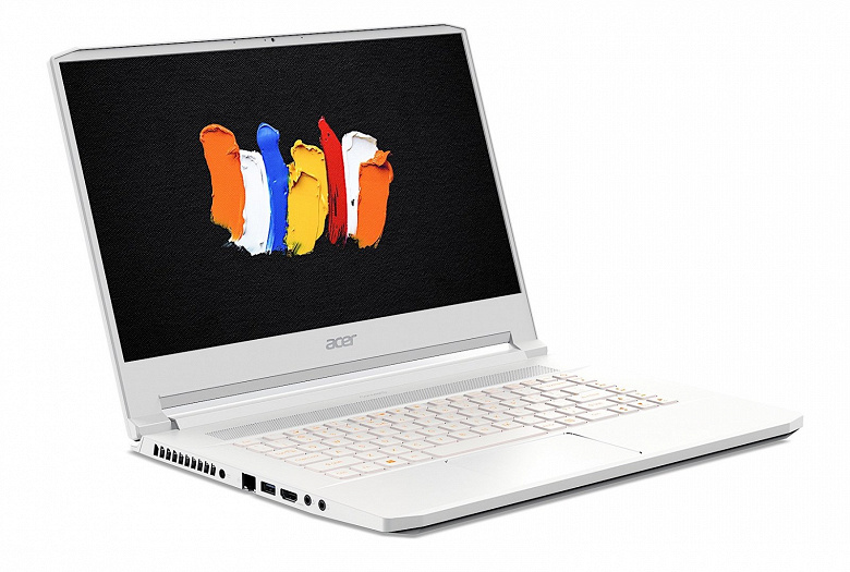 В конфигурацию ноутбука Acer ConceptD 7 войдет 3D-карта Nvidia Quadro RTX 5000