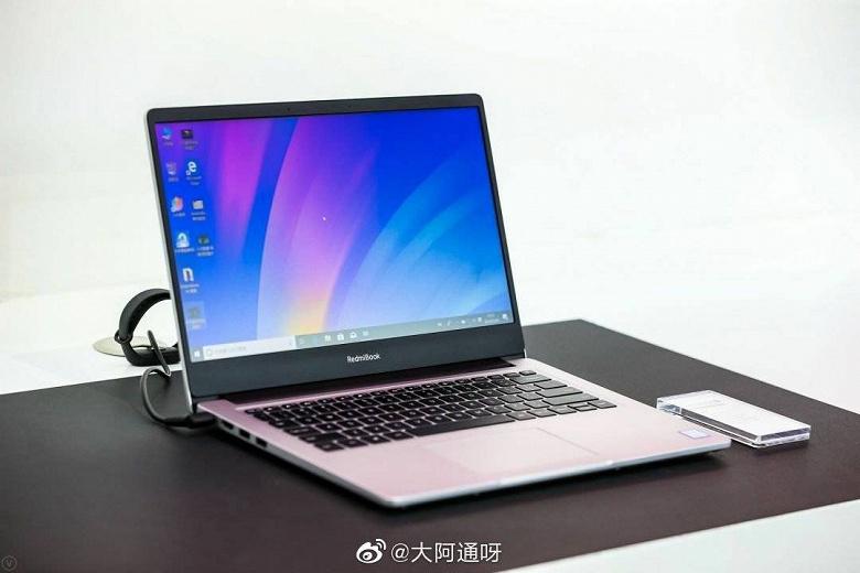 Первое живое фото ноутбука RedmiBook