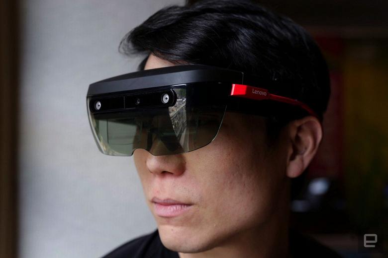 Гарнитура виртуальной и дополненной реальности Lenovo ThinkReality A6 предназначена для предприятий