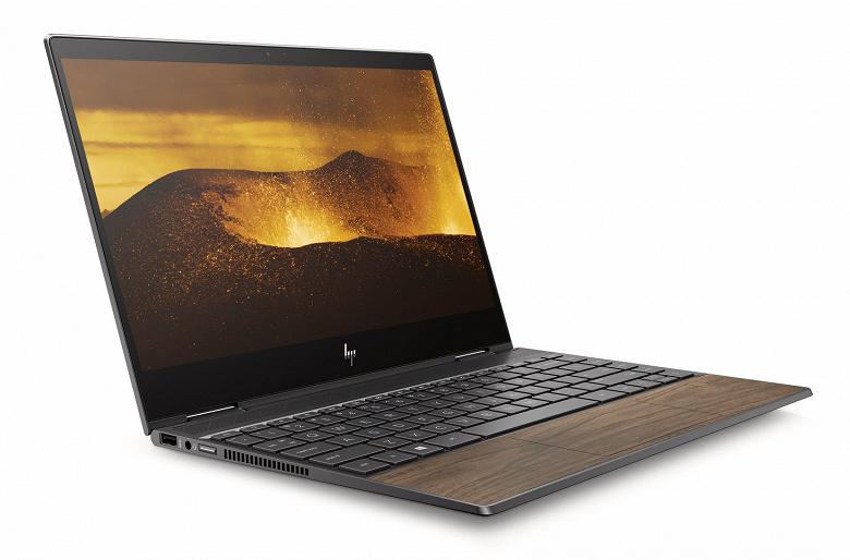 Ноутбуки HP Envy получат деревянную отделку