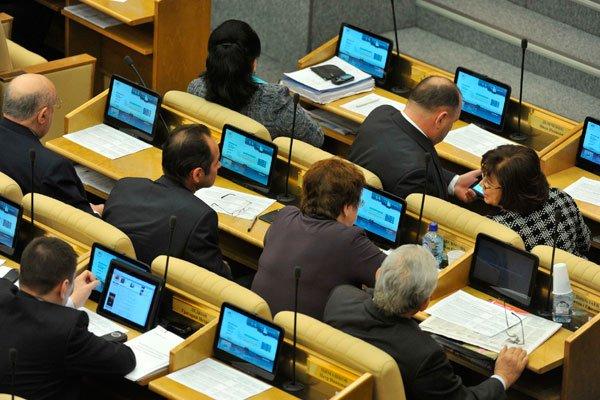 Госдума потратит более 500 000 руб. на чистку 80 планшетов