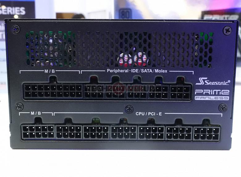 Компания Seasonic привезла на Computex блок питания мощностью 700 Вт с пассивным охлаждением