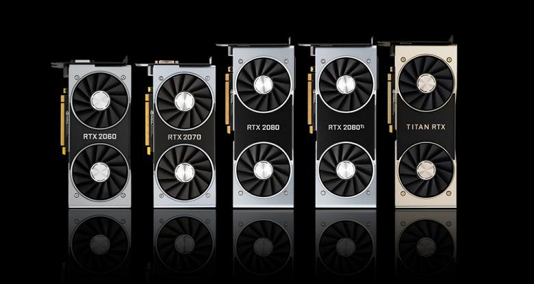 Боязнь Navi. Nvidia приписывают выпуск новых видеокарт Turing RTX 20 с более быстрой памятью GDDR6 – они помогут бороться в видеокартами AMD Navi