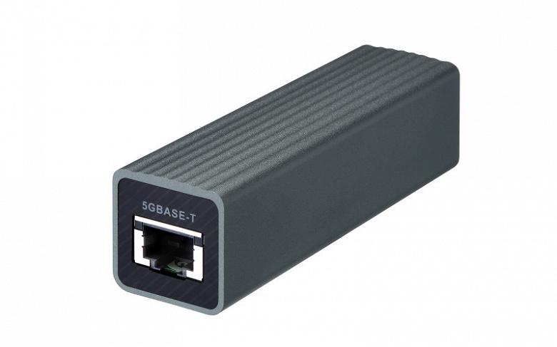 Адаптер Qnap QNA-UC5G1T превращает порт USB 3.0 в порт 5GbE