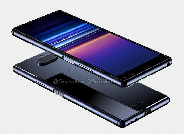 Видео дня: смартфон Sony Xperia 20 на рендерах со всех сторон
