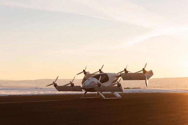 Фотогалерея дня: демонстрационный экземпляр аэротакси Vahana