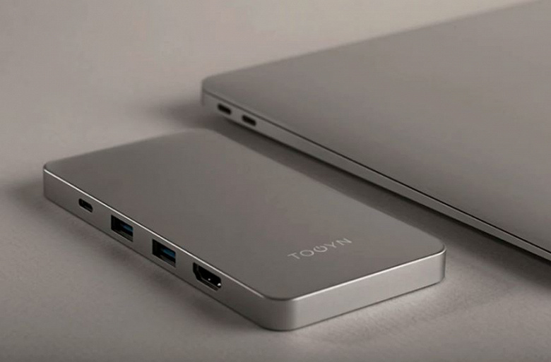 Разработчики называют Tooyn Charger самым тонким в мире зарядным устройством для MacBook с функциями концентратора USB-C и беспроводной зарядки