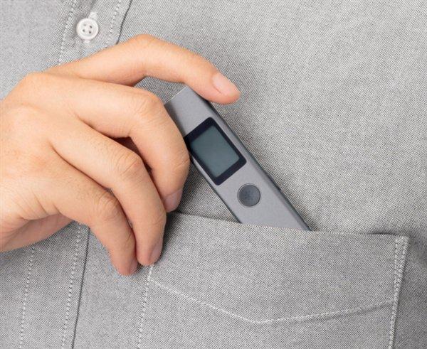 Xiaomi представила лазерный дальномер Duka LS-P, который умеет замерять площадь и объем