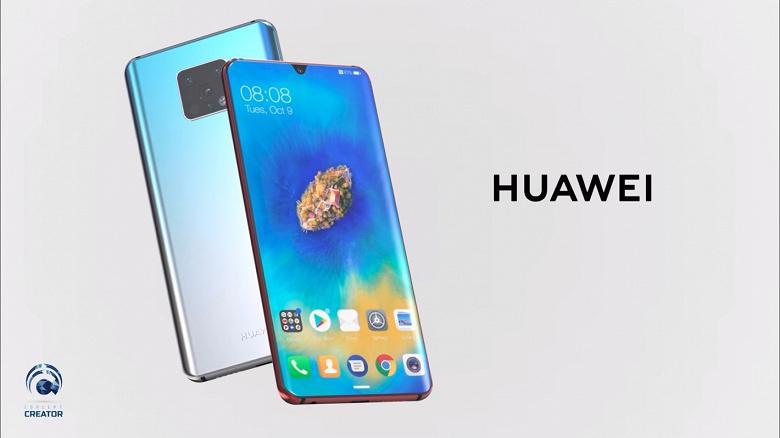 Видео дня: концептуальный Huawei Mate 30 демонстрирует нетипичную квадрокамеру