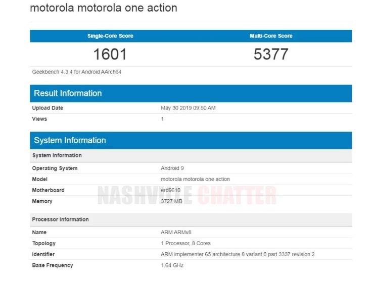 Компании Motorola пришлись по душе платформы Samsung. Ещё одна новинка линейки One будет основана на SoC Exynos 9610