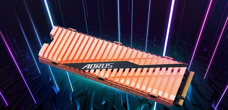 Накопители Gigabyte Aorus NVMe Gen4 SSD обеспечивают скорость до 5 ГБ/с