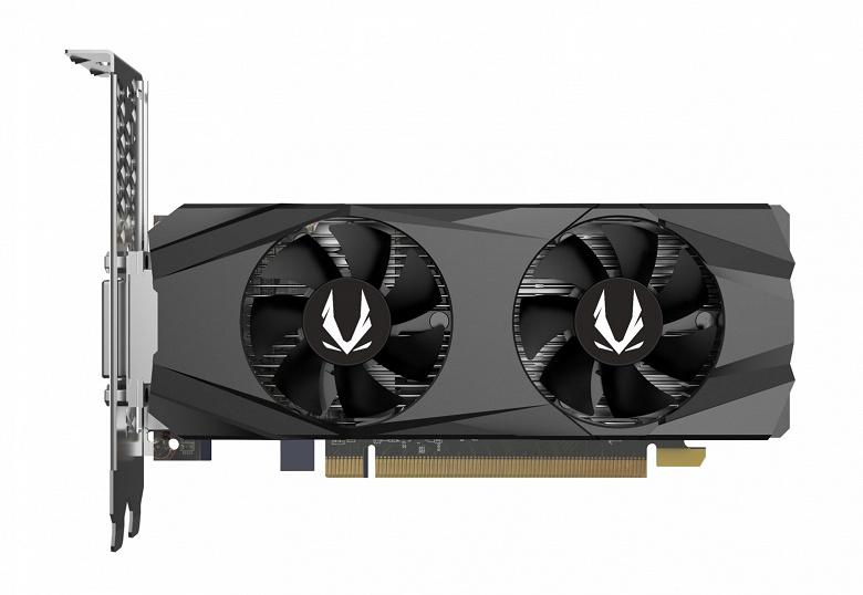 Zotac приготовила первую низкопрофильную видеокарту GeForce GTX 1650