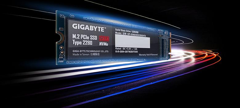 Очень быстро. Gigabyte покажет SSD с интерфейсом PCIe 4.0 и скоростью передачи данных в 5000 МБ/с