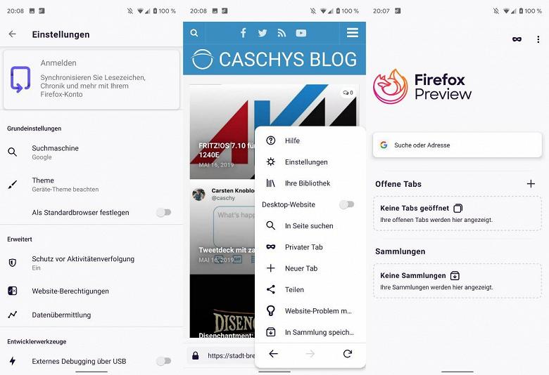 Mozilla Fenix — браузер «не для родителей» — уже можно скачать и опробовать