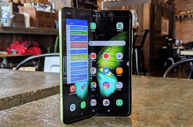 Перезапуск гибкого смартфона Samsung Galaxy Fold намечен на следующий месяц
