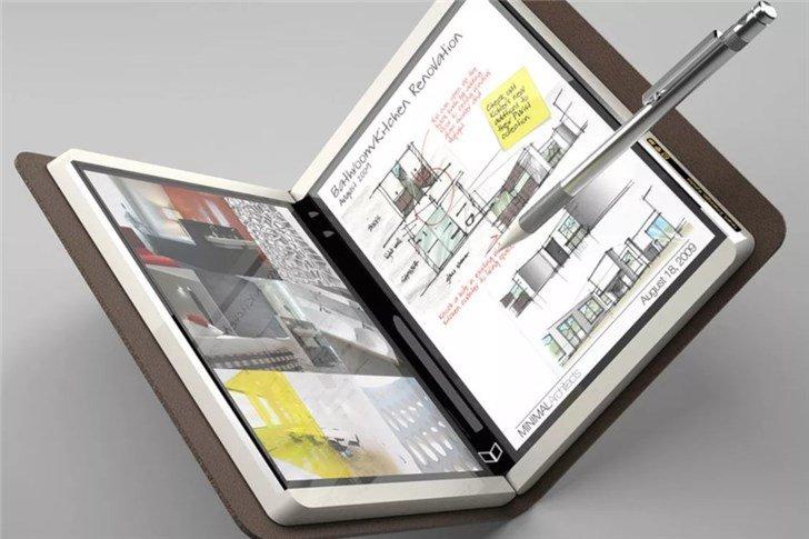 Microsoft готовит складной планшет с9-дюймовыми экранами иподдержкой приложений андроид
