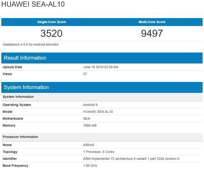 Huawei Nova 5 Pro: стала известна цена телефона исвежие детали
