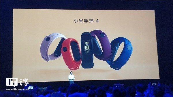 Xiaomi Mi Band 4 представлен официально: цветной дисплей AMOLED диагональю 0,95 дюйма, улучшенный акселерометр и NFC за $33