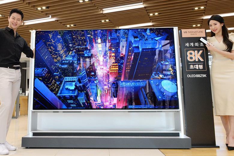що таке 8k телевізори LG