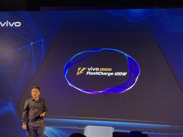 Технология сверхбыстрой зарядки мощностью 120 Вт Vivo SUPER FlashCharge представлена официально